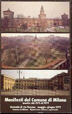 Manifesti del Comune di Milano mostre dal 1975 al 1979