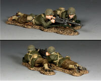 KING AND COUNTRY WW2 US Machine Gun Team D Day DD311