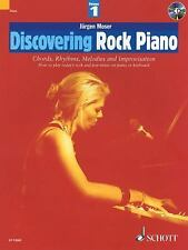 Discovering Rock Piano vol 1: Chords, Rhythms, Melodies and Improvisation Bk/C..