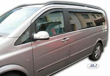 MERCEDES VITO/VIANO W639 2003-2012  Front wind deflectors 2pc set TINTED HEKO