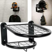 Sealey Motorcycle Helmet Clothing Gear Tidy Wall Mounted Shelf Rack Bike Storage
