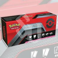Pokemon TCG: TRAINER'S TOOLKIT BOX | FACTORY SEALED 4 Packs Decks Sleeves Dice