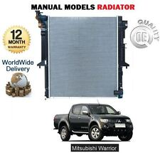 FOR MITSUBISHI L200 WARRIOR 2.5 DID 2006--> RADIATOR FOR MANUAL DRIVE MODELS