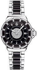 MINT TAG HEUER  FORMULA 1 WAH1219.BA0859 DIAMOND BEZEL BLACK CERAMIC LADY WATCH
