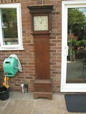 A 30hour Oak Longcase Clock Complete