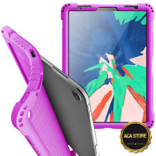 Case For Apple iPad Pro 11 Tablet Flexible Shockproof Silicone Cover Purple