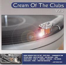 CREAM OF THE CLUBS VOLUME 3 - VARIOUS ARTISTS / 2 CD-SET - NEUWERTIG