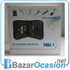 Kit Accesorios Portatil: Raton Teclado Numerico Puertos USB Lampara Auricular