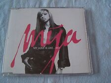 My love is like ....wo by Mya CD Single 2003 Pop R&B Promo A&M