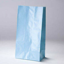 Paper bags, crafts party favors scrapbooks gifts BLUE  approx 6x11  9 pcs