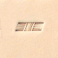 X505 Craftool Basketweave Stamp Tandy Leather Craft 6505-00 Decorate Stamping