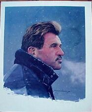 "MIKE DITKA  ""CHICAGO BEARS""  LITHOGRAPH SIGNED BY MERV CORNING COA"