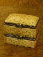 Oriental Trinket Box #S0451 Double Bone Box, NEW from Retail Store, Mint/Box