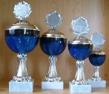 9 POKALE Serie gestaffelt mit Emblem NEU #1011 (Pokal Medaillen Gravur Turnier)
