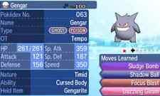 Pokemon Strategy Guide: Shiny Gengar 6IV +Items Customization For Sun/Moon