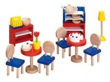 Puppenmöbel Bistro, goki 51690, Möbel Küche, Puppenhaus, Puppenstube, NEU