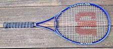 "Wilson Roger Federer ""Signed"" Volcanic Frame Tennis Racquet 4.5"" grip 27.5 X 11"""