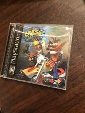 Crash Bandicoot: Warped Ps1 Black label Hologram Cover With Manual
