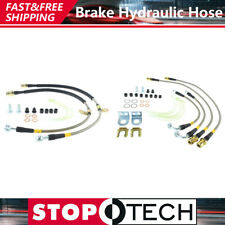 Front & Rear Kit Stainless Steel Brake Lines For 2010-2011 Ford F-150 - Stoptech