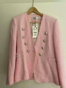 Zara Womens Tweed Jacket Size XS BNWT