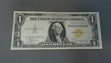 One Dollar $1 North African Silver Certificate series 1935A Gold Seal WWII