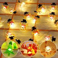 2M Weihnachten Baum Verzierunge LED Lichter Hängend Weihnachten Beleuchtung Deko