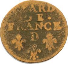 O3262 Liard de France Louis XIV 1695 D Lyon -> Faire offre