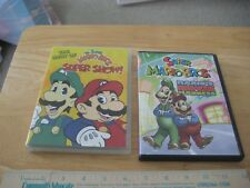 Super Mario Bros. Super Show & Mario's Movie Madness (DVD) 2 Movies included