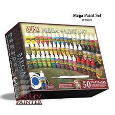 The Army Painter: Warpaints Mega Paint Set III 50 Paints & Regiment Brush