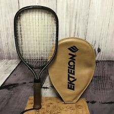 Ektelon Marathon Graphite Racquetball With Zipper Cover & Wrist Strap (Z05