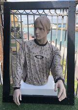Oakley MTB MX Long Sleeve T-Shirt Sanchez Large Rare New Khaki 100% Coolmax