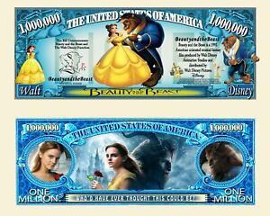 Beauty and the Beast - Disney Movie Million Dollar Novelty Money