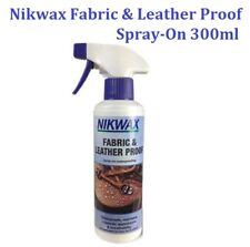 Fabric & Leather Proof Spray 300ml Waterproofing Care Walking Boots By - Nikwax