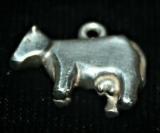 James Avery RETIRED Sterling Silver 3D Cow Charm