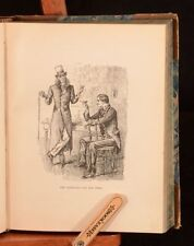 Novels Illustrated Leather Antiquarian & Collectable Books