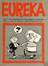 Strisce a fumetti di fumetti europei e franco-belgi riviste eureka
