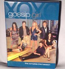 DVD GOSSIP GIRL COMPLETE SEASON 3 BOX SET 5 Discs NEAR MINT