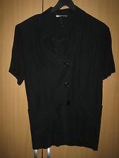 Damenbluse- Jacke  schwarz größe 38 Arm 1 - 2 Arm lg B.Cerveller