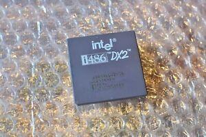 Intel 486 Prozessor/CPU - DX2-50 - SX641 - 50Mhz FSB - PGA168 für DOS etc.