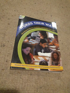 Words Their Way: Word Study for Phonics, Vocabulary, & Spelling Instruction 4th