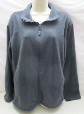 Starter Fleece Mens L 42 44 1/4 Zip Up Zipper Gray Sweatshirt Jacket Coat Shirt