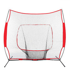 Baseball 7 x 7' Net Practice Hitting Pitching Batting and Catching with Bag
