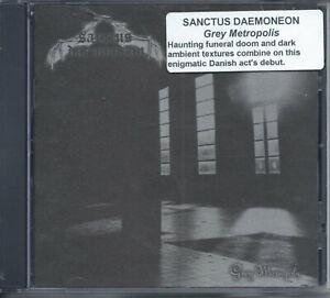 SANCTUS DAEMONEON Grey Metropolis CD 2008 Denmark Black Doom Metal/Dark Ambient