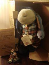Boyds Bear Christmas Eeyore plush and ornament set. Original boxes and tags.