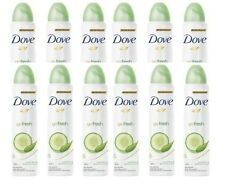 Dove Fresh Cucumber & Green Tea Scent Spray Anti-perspirant 150ml (Pack of 12)