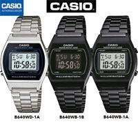 CASIO B640WB-1B⎪B640WB-1A⎪B640WD-1A®️ORIGINAL⎪✈️SPEDIZIONE CERTIFICATA⎪NERO⎪💦