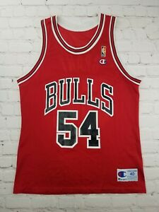 RARE Vintage 1990s NBA Champion Horace Grant Chicago Bulls Jersey Size 40 Medium