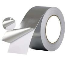 Rotolo Nastro Adesivo Di Alluminio 30mt x 48mm Alte Basse Temperature sus