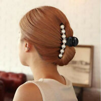 2size Hair Clip Claw Clamp Crystal Rhinestone Hairpin Hair Accessories For Women