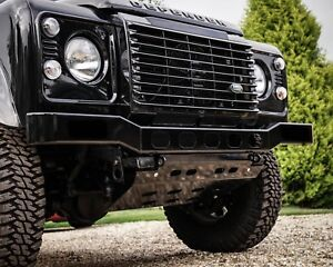 Land Rover Defender Renegade Stainless Steel Front Bumper - Uproar 4x4